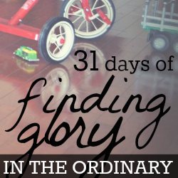 finding glory in the ordinary v1